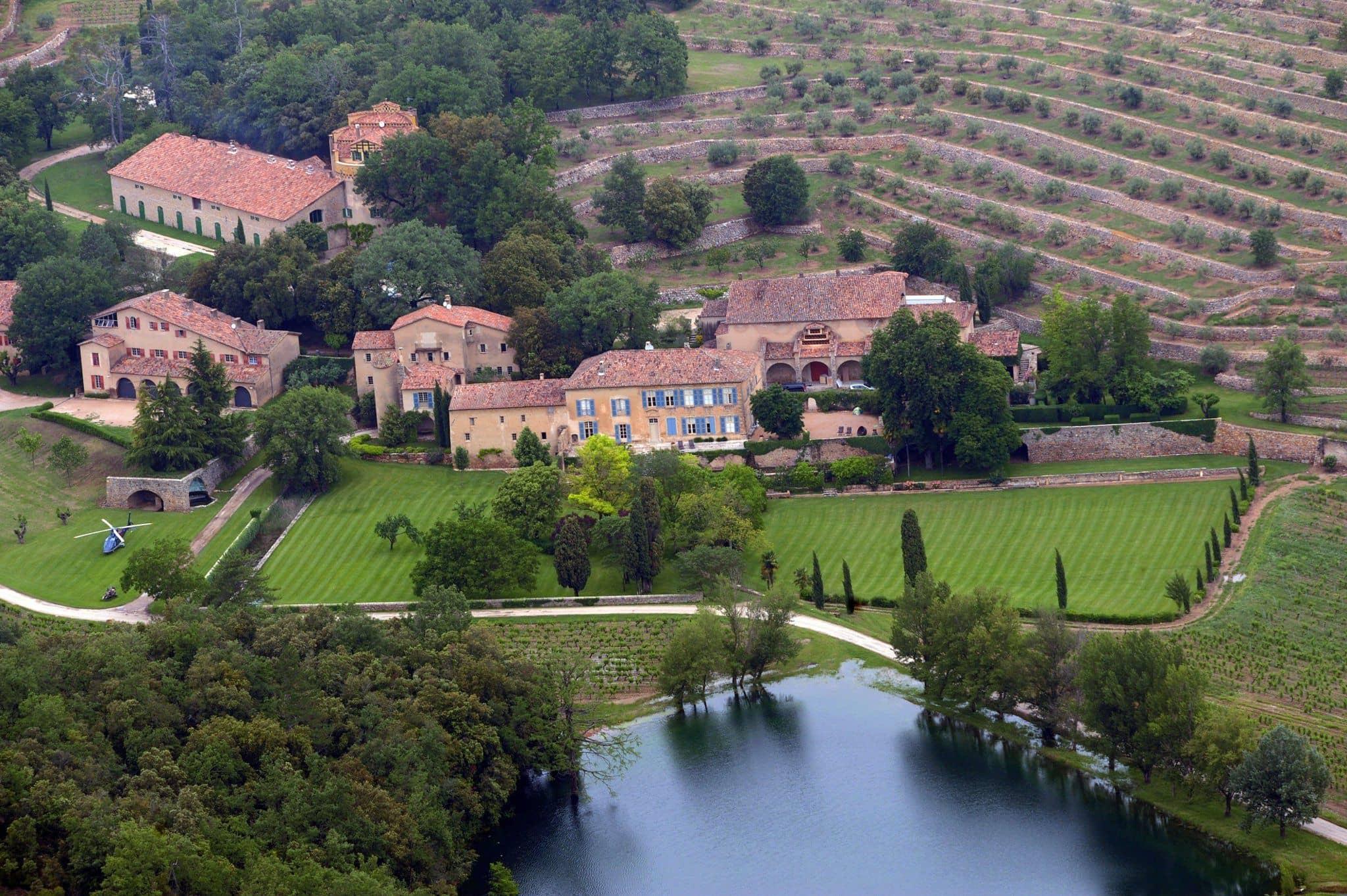 アンジェリーナ・ジョリー Angelina Jolie ブラッド・ピット Brad Pitt 豪邸 フランス