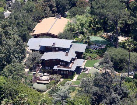 アンジェリーナ・ジョリー Angelina Jolie ブラッド・ピット Brad Pitt 豪邸 カリフォルニア ロス・フェリス