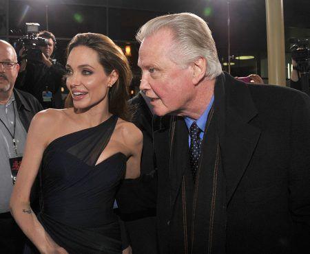 アンジェリーナ・ジョリー Angelina Jolie  ジョン・ヴォイト Jon Voight 父