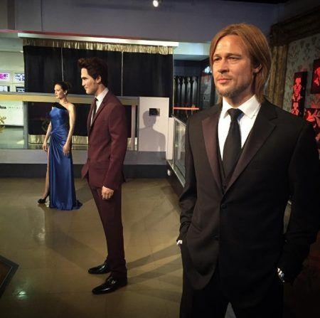 アンジェリーナ・ジョリー Angelina Jolie ブラッド・ピット Brad Pitt ロバート・パティンソン Robert Pattinson 蝋人形 ろう人形