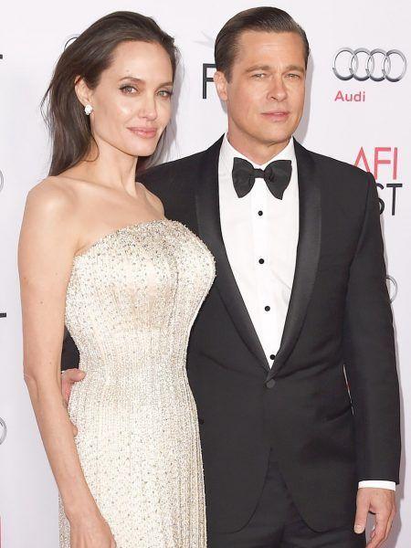 アンジェリーナ・ジョリー Angelina Jolie  ブラッド・ピット Brad Pitt