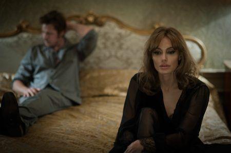 アンジェリーナ・ジョリー Angelina Jolie  ブラッド・ピット Brad Pitt 映画 白い帽子の女