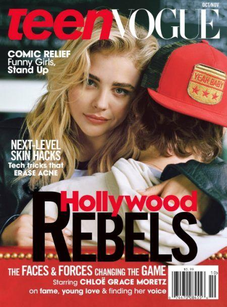 クロエ・モレッツ Chloe Moretz Teen Vogue  表紙