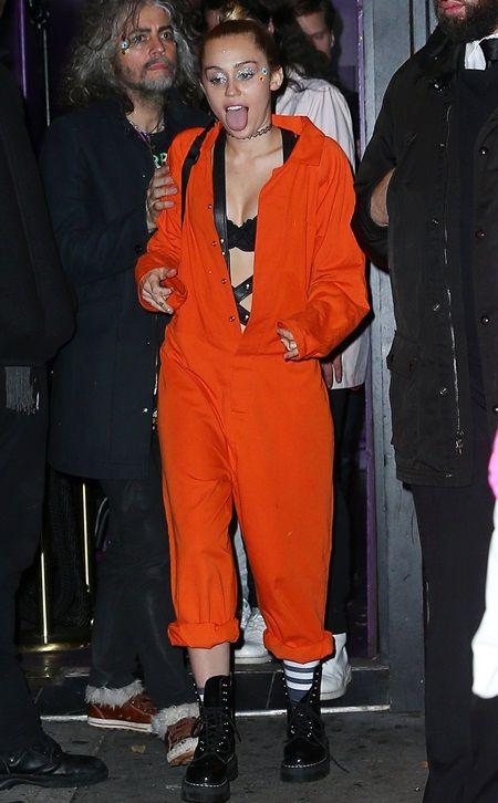 Miley Cyrus halloween マイリー・サイラス