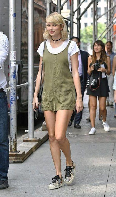 テイラー・スウィフト Taylor Swift ファッション コーデ