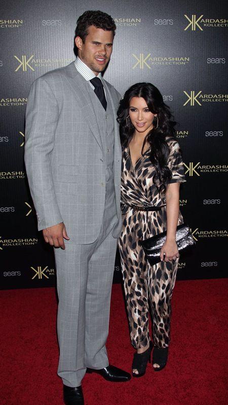 キムはNBA選手のクリスと結婚してわずか72日で離婚を申請した。