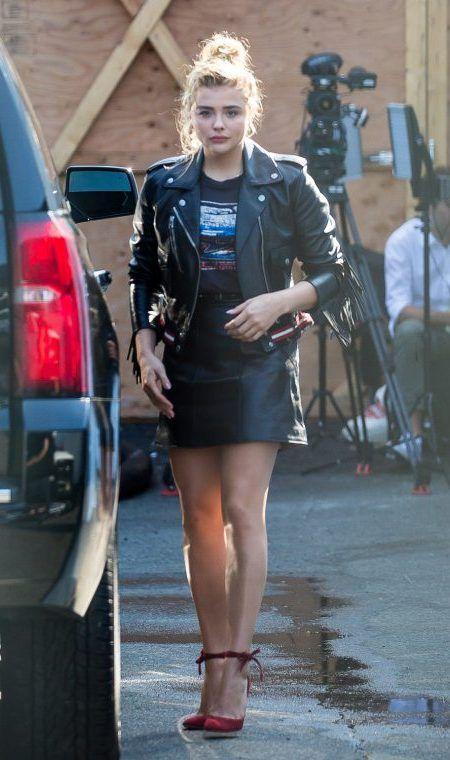 クロエ・モレッツ Chloe Moretz NY ファッションウィーク