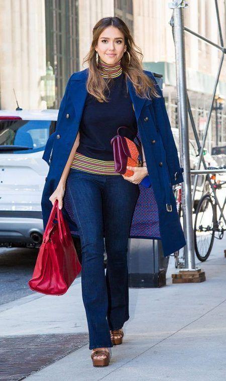 ジェシカ・アルバ Jessica Alba NYファッションウィーク
