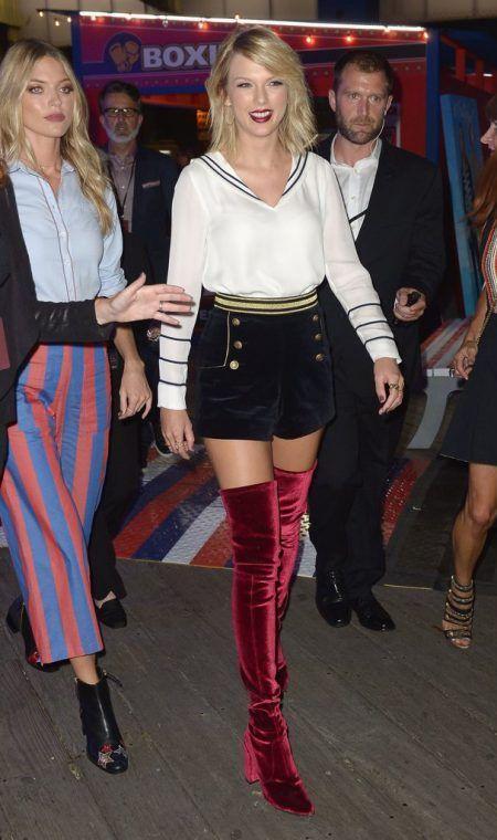 テイラー・スウィフト Taylor Swift NYファッションウィーク