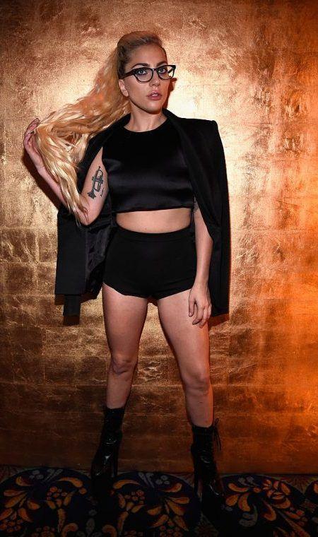 レディー・ガガ Lady Gaga  NY ファッションウィーク
