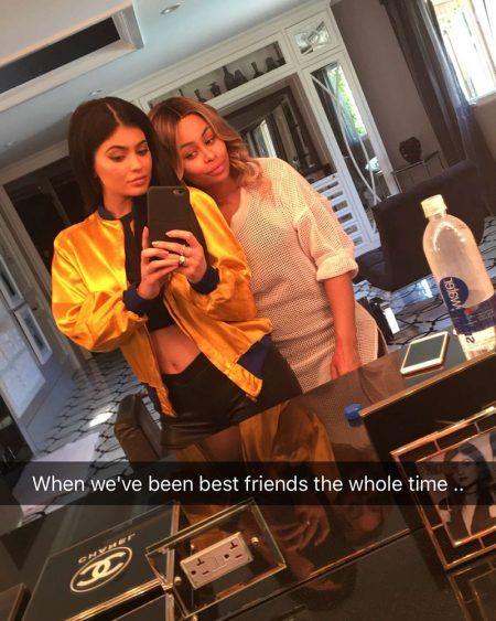 カイリー・ジェナー Kylie Jenner  ブラック・チャイナ Blac Chyna