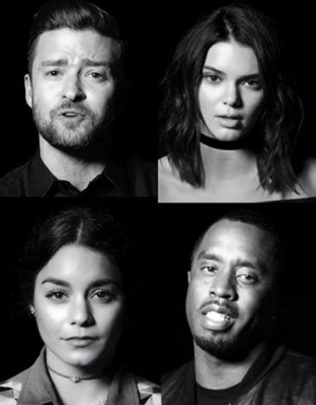 Where is the Love ホエア・イズ・ザ・ラヴ ジャスティン・ティンバーレイク Justin Timberlake ケンドル・ジェナー Kendall Jenner ヴァネッサ・ハジェンズ Vanessa Hudgens P・ディディ P Diddy リメイク