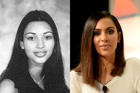 キム・カーダシアン Kim Kardashian 学生時代 ビフォーアフター リアリティスター セレブ