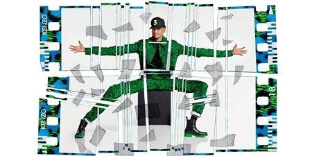チャンズ・ザ・ラッパー Chance The Rapper ヒップホップアーティスト Kenzo×H&M コラボコレクション H&M 大人気 ファッション