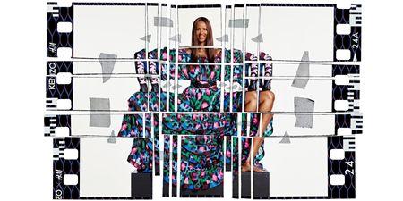 イマン Iman モデル デヴィッド・ボウイ妻 Kenzo×H&M コラボコレクション H&M 大人気 ファッション