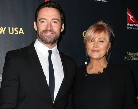LOS ANGELES, CA, USA - JANUARY 28: Actor Hugh Jackman and wife Deborra-Lee Furness arrives at the 2016 G'Day USA Los Angeles Gala held at Vibiana on January 28, 2016 in Los Angeles, California, United States. (Photo by Image Press/Splash News) Pictured: Hugh Jackman, Deborra-Lee Furness Ref: SPL1217578  280116   Picture by: Image Press / Splash News Splash News and Pictures Los Angeles:    310-821-2666 New York:  212-619-2666 London:    870-934-2666 photodesk@splashnews.com