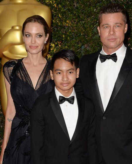 ブラッド・ピット Brad Pitt アンジェリーナ・ジョリー Angelina Jolie マドックス Maddox