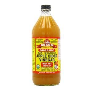 ブラグ社のリンゴ酢 Bragg Apple Cider Vinegar