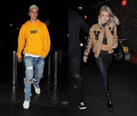 ジャスティン・ビーバー ソフィア・リッチー ロンドン Justin Bieber Sofia Richie London