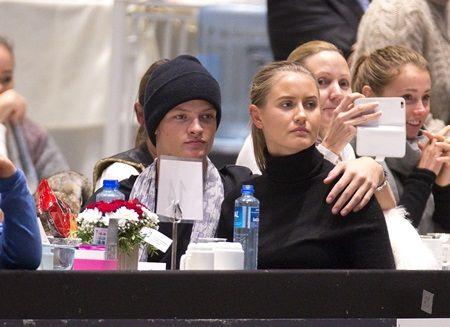 Mette-Marits son Marius brings girlfriend when Princess Martha does comeback in Oslo
