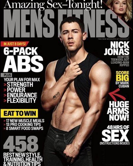 ニック・ジョナス Nick Jonas Men's Fitness誌 ボディ 筋肉