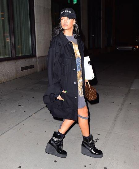 リアーナ Rihanna デザイン Fenty×Puma 大人気 ショートブーツ
