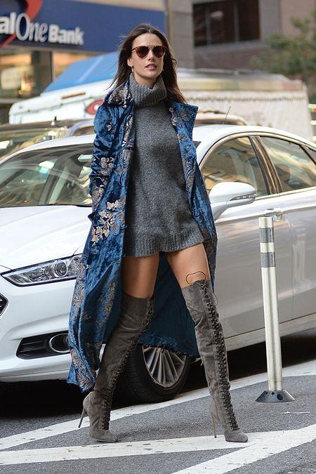 アレッサンドラ・アンブロジオ Alessandra Ambrosio フィッティング NY 衣装の試着 ヴィクトリアズ・シークレット Victoria's Secret ヴィクシー エンジェル
