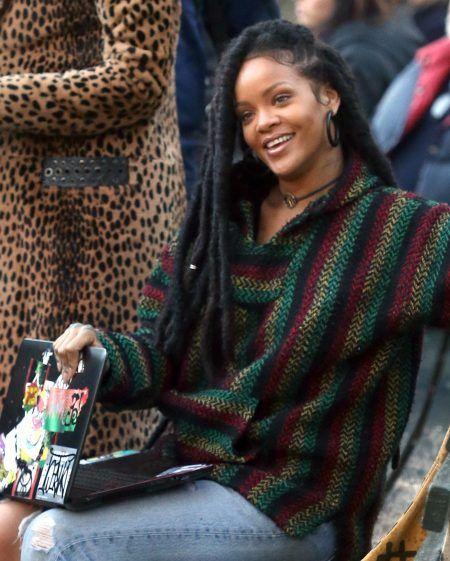 リアーナ Rihanna  NY セントラルパークで撮影 オーシャンズ8 Oceans8