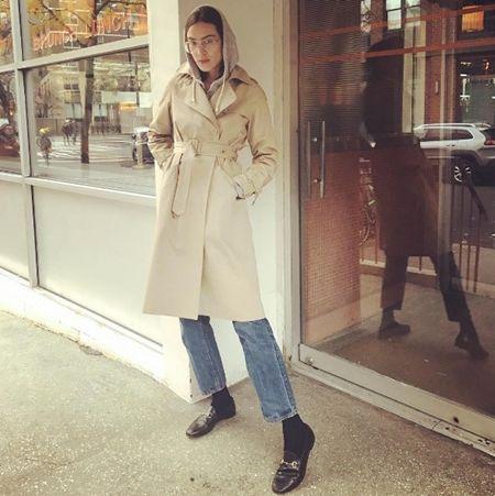 アレクサ・チャン Alexa Chung ギークめがね おたく風めがね トレンド 海外セレブ ファッション 細フレーム×ティアドロップ型 今年風