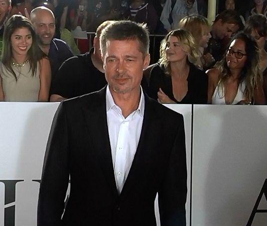 ブラッド・ピット Brad Pitt 離婚騒動初 レッドカーペット登場
