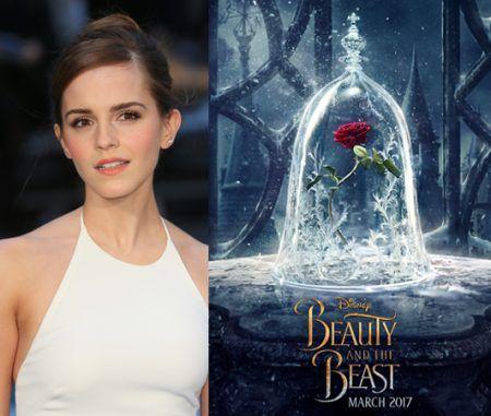 エマ・ワトソン Emma Watson ディズニー 実写版 映画 美女と野獣 ポスター