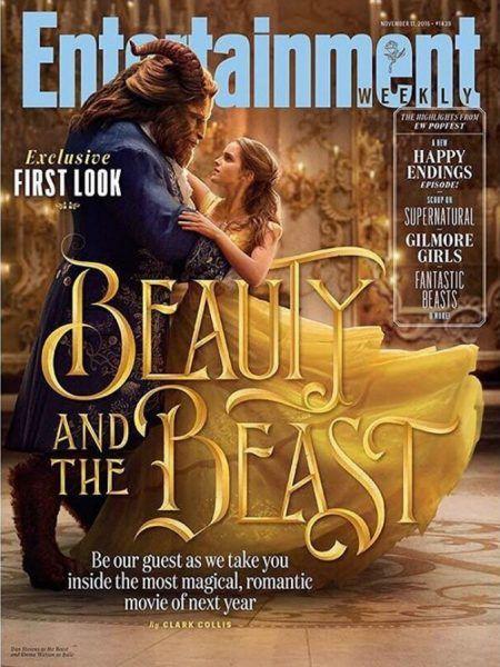 エマ・ワトソン Emma Watson 映画 美女と野獣 ディズニー 実写版 ファーストルック 写真