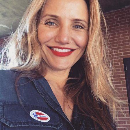 キャメロン・ディアス Cameron Diaz アメリカ 大統領選挙 投票