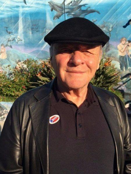 アンソニー・ホプキンス Anthony Hopkins アメリカ 大統領選挙 投票