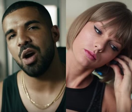 ドレイク テイラー・スウィフト Drake Taylor Swift Apple Music アップル・ミュージック CM