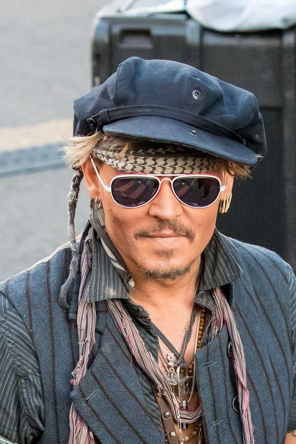 ジョニー・デップ Johnny Depp 『ジミー・キンメル・ライブ!』 離婚後初 TV出演