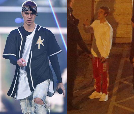ジャスティン・ビーバー Justin Bieber スペイン バルセロナ ファン殴打 写真