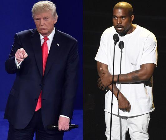 カニエ・ウェスト Kanye West ドナルド・トランプ支持