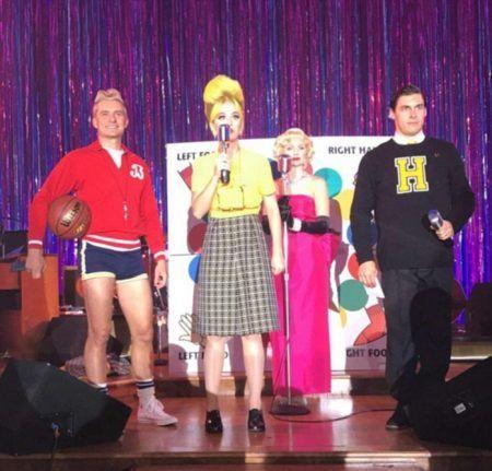 ケイティ・ペリー Katy Perry ハロウィン バースデー パーティ オーランド・ブルーム Orlando Bloom ステージ