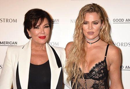 クロエ・カーダシアン クリス・ジェナー Khloe Kardashian and Kris Jenner