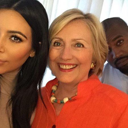 カニエ・ウェスト Kanye West ドナルド・トランプ支持 キム・カーダシアン ヒラリー・クリントン