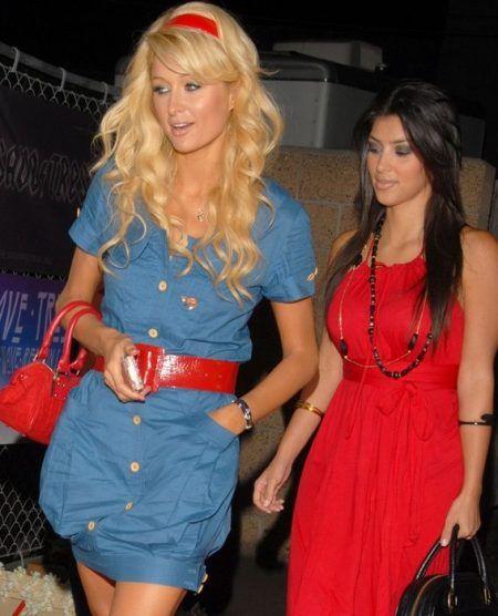 キム・カーダシアン Kim Kardashian パリス・ヒルトン Paris Hilton