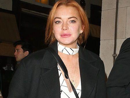 リンジー・ローハン ドナルド・トランプ 大統領 Lindsay Lohan