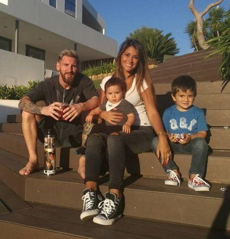 リオネル・メッシ Lionel Messi タトゥー 家族