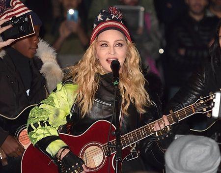 マドンナ ドナルド・トランプ 大統領  Madonna