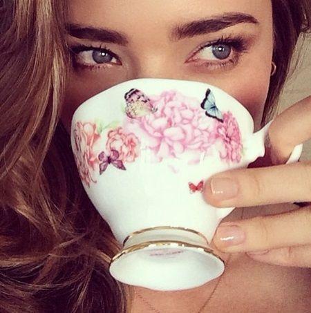 ミランダ・カー Miranda Kerr 寒い日に体を温めるミランダ・カー愛飲の5つのお茶