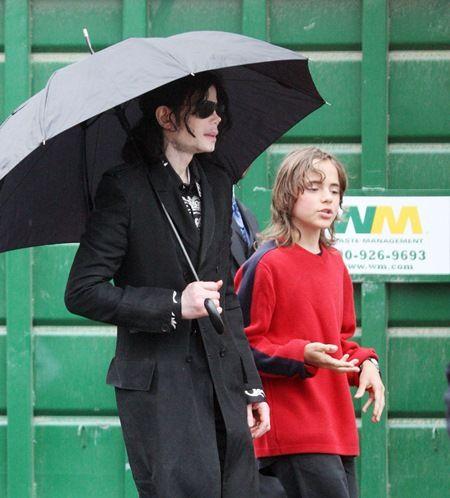 プリンス・マイケル・ジャクソン Prince Michael Jackson 親子