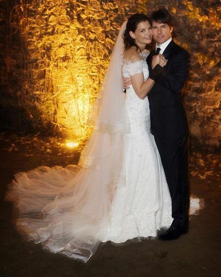 トム・クルーズ ケイティ・ホームズ 結婚式 Tom Cruise Katie Holmes
