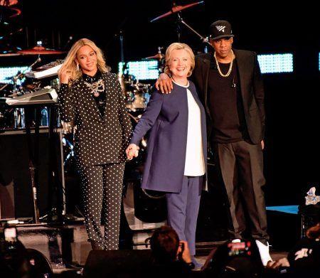 ビヨンセ Beyonce ヒラリー・クリントン Hillary Clinton ジェイ・Z Jay Z