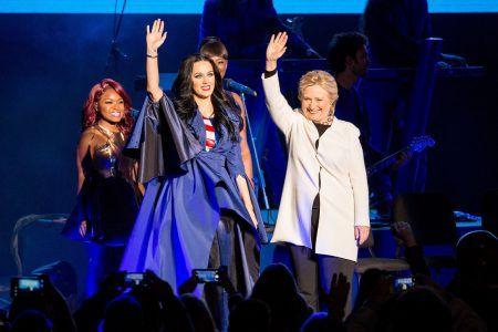 ケイティ・ペリー Katy Perry  ヒラリー・クリントン Hillary Clinton
